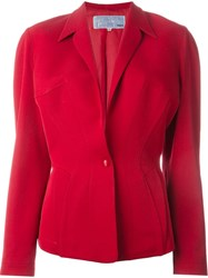 Thierry Mugler Vintage Structured Shoulder Blazer