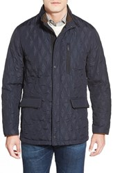 Men's Rainforest Slim Fit Quilted Waxed Nylon Jacket
