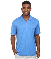 Adidas Climachill Solid Club Polo Ray Blue Men's Short Sleeve Pullover