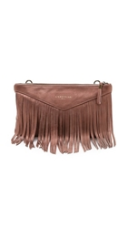 Liebeskind Carol Cross Body Clutch Rose