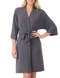 Dkny Plus Urban Essentials Robe Heather Charcoal
