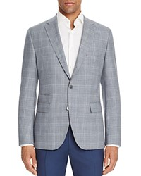 Boss Hugo Boss Johnston Double Pane Regular Fit Sport Coat Light Blue