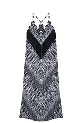 Missoni Zig Zag Strappy Dress Black