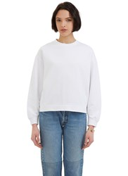 Katharine Hamnett X Ymc Oversized Crew Neck Sweater White