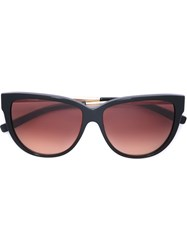 Jil Sander 'Skyline' Sunglasses Brown