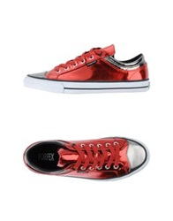 Forfex Low Tops And Trainers Red