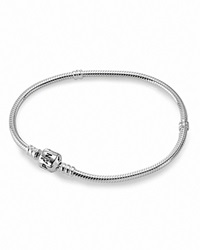 Pandora Design Pandora Bracelet Sterling Silver With Signature Clasp Moments Collection