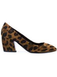 Pierre Hardy 'Calamity' Pumps Brown