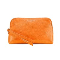 Aspinal Of London Essential Cosmetic Case Orange