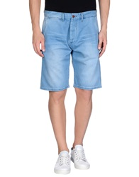 Jack And Jones Vintage Denim Bermudas Blue
