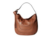 Calvin Klein Nola Jetlink Hobo Luggage Hobo Handbags Brown