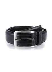 Dents Leather Belt Black