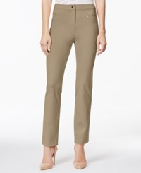 Charter Club Ankle Pants Only At Macy's Dusted Camel