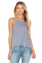 Lanston Swing Crop Cami Gray