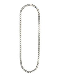 Nak Armstrong Geometric Long Necklace Green