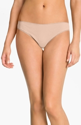 Ongossamer 'Cabana' Cotton Thong 3 For 45 Champagne