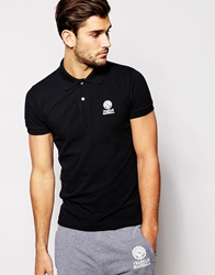 Franklin And Marshall Classic Pique Polo Shirt Black