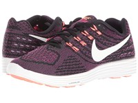 Nike Lunartempo 2 Black Fire Pink Bright Mango Summit White Women's Running Shoes Brown