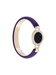 Bulgari Logo Disk Bracelet Pink And Purple