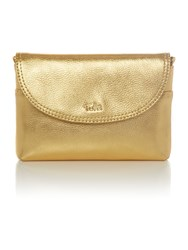Tula Party Gold Small Crossbody Bag Gold