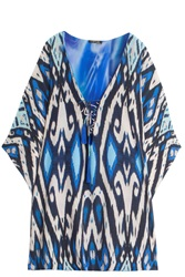 Caffe Swimwear Lace Up Kaftan
