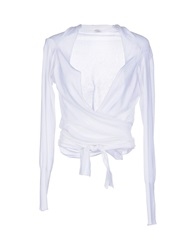 Jucca Wrap Cardigans White