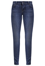 Only Onlcoral Slim Fit Jeans Dark Blue