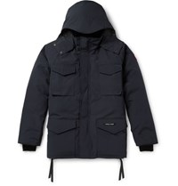 Canada Goose Constable Hooded Shell Parka Navy