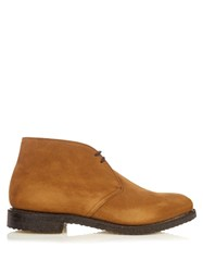 Church's Ryder Suede Boots Tan