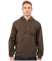 Filson Buckland Cover Cloth Zip Up Otter Green Men's Clothing