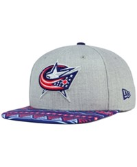New Era Columbus Blue Jackets Neon Mashup 9Fifty Snapback Cap