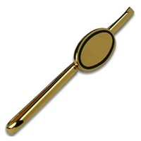Forzieri Classic Gold Plated Tie Clip