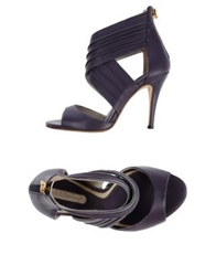 Dibrera By Paolo Zanoli Sandals Purple