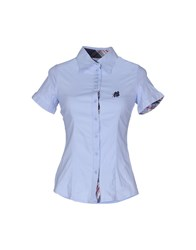 American Sport Club Shirts Shirts Women Sky Blue