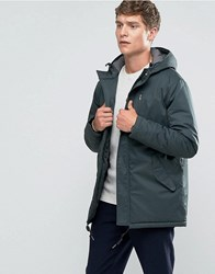 Selected Homme Parka Jacket Khaki Green