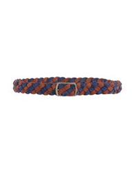 Mauro Grifoni Belts Dark Blue