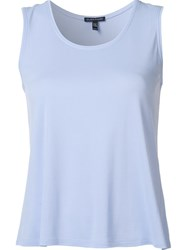 Eileen Fisher Silk Tank Blue