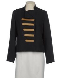 Les Prairies De Paris Suits And Jackets Blazers Women Dark Blue