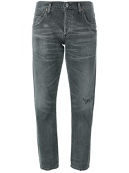 Citizens Of Humanity 'Emerson' Cropped Jeans Grey