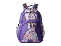 High Sierra Swerve Backpack Lavender Delicate Lace White Backpack Bags Purple