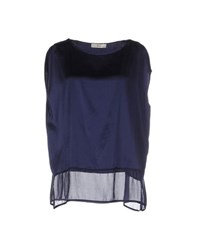 Suoli Topwear Tops Women Dark Blue