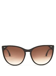 Thierry Lasry Swappy Cat Eye Sunglasses Black