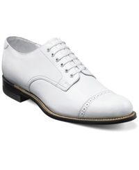 Stacy Adams Madison Cap Toe Oxfords Men's Shoes White