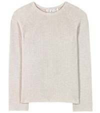 Helmut Lang Cotton And Cashmere Sweater Grey
