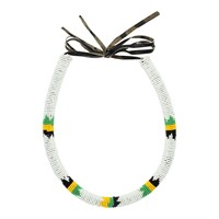 Kin Lab Collective Zulu Beaded Tube Necklace