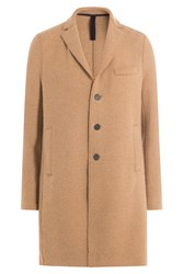 Harris Wharf London Alpaca Coat Camel