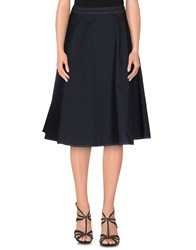 Roberto Collina Skirts 3 4 Length Skirts Women Dark Blue
