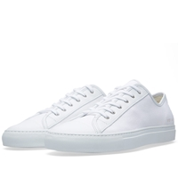 Common Projects Toe Cap Low Canvas Off White