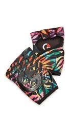 G Loves Welcome To The Jungle Workout Gloves Multi