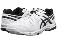 Asics Gel Game 5 White Onyx Chinese Red Men's Tennis Shoes